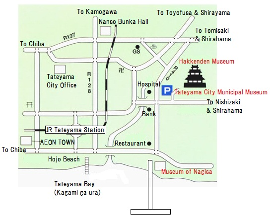 Map of museums